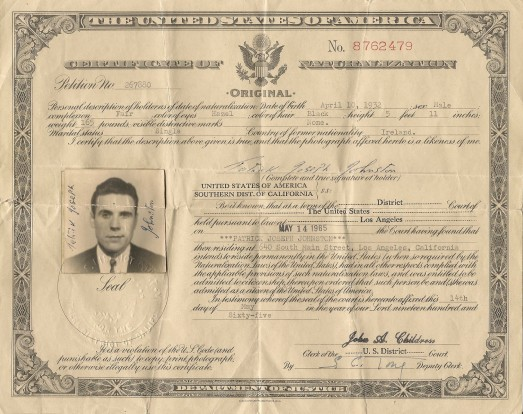 Dad naturalization record