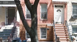 My father once lived in Brooklyn, NY in the red brick building in the center.