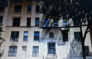 Building in The Bronx where my father once lived. Image: Google Maps.