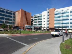 Presbyterian Hospital, the last place I saw Dad alive.