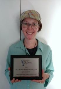 Joy writing award