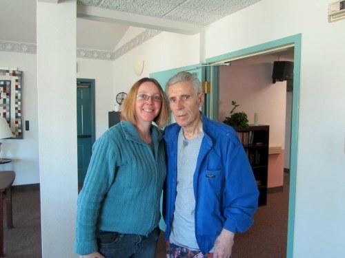 Joy & her father, 2011