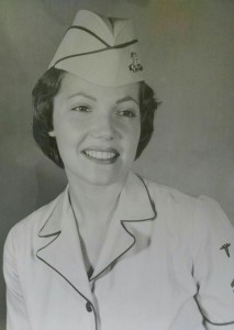 Mom loved her time in the Navy.