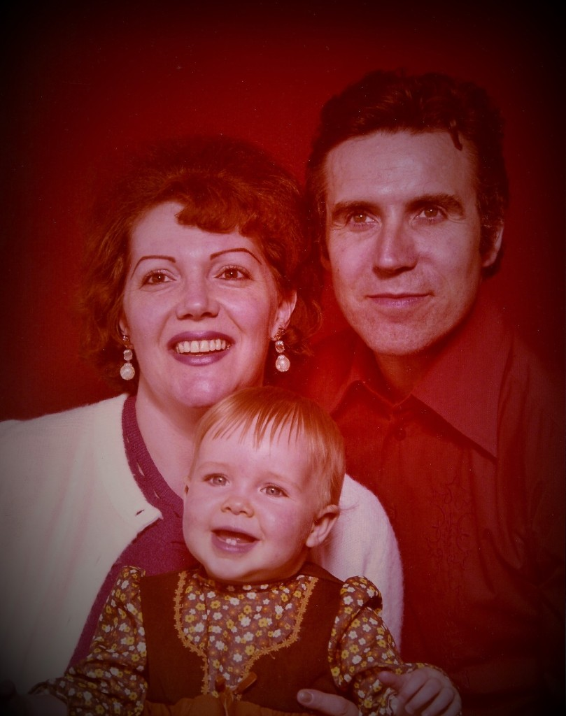 family portrait red